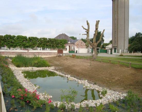 Réalisation de bassin - chantier  Lépine